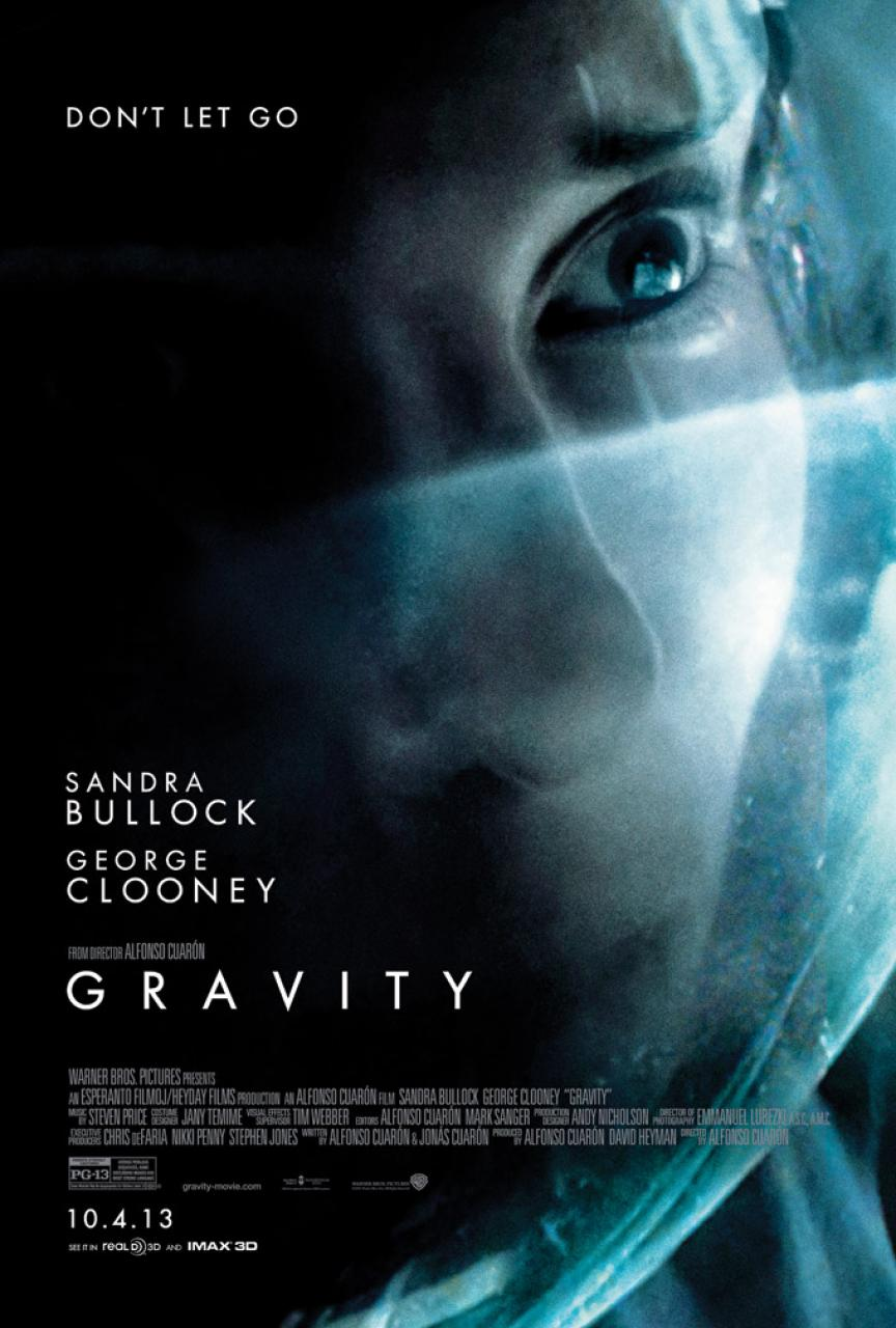 "A Couple Of New ""Don't Let Go"" Posters For Space-Thriller Gravity"