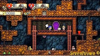 jogo de plataforma explorador da mina de ouro parecido com terraria