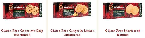 walkers shortbread gluten free line