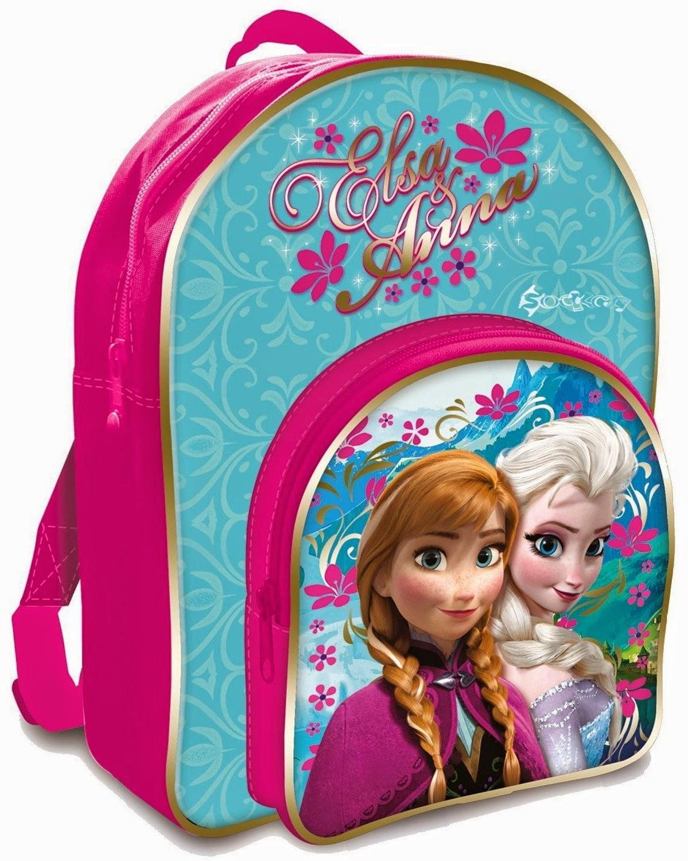 Gambar tas elsa frozen warna kombinasi untuk anak