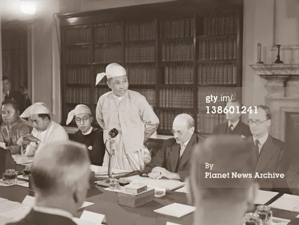၀င္းေအာင္ႀကီး – ပေဒသာပင္ စိုက္ေပးလိုက္သည့္ ၁၉၄၇ ခု ဖြဲ႕စည္းပံုအေျခခံဥပေဒ