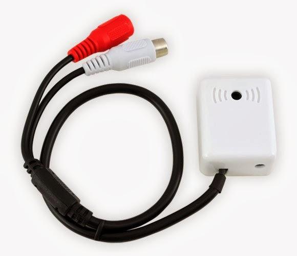 Активный микрофон для видеонаблюдения 70