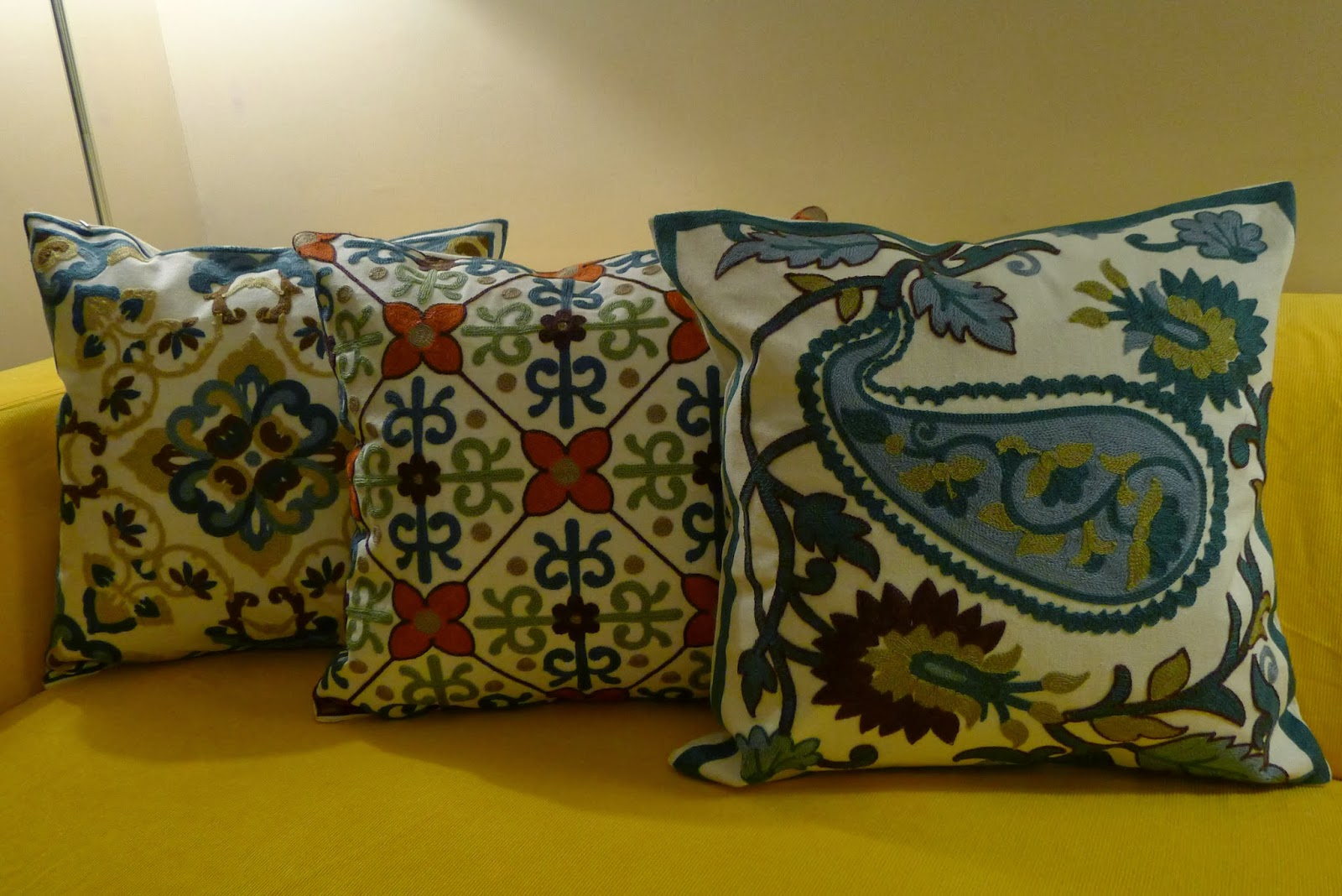 Found: Modern Needlepoint Pillows Tina Villa