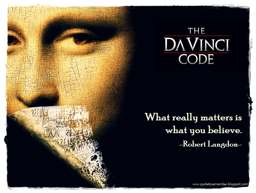the da vinci code and the The da vinci code is a 2006 american mystery thriller film directed by ron  howard, written by akiva goldsman, and based on dan brown's 2003 best- selling.