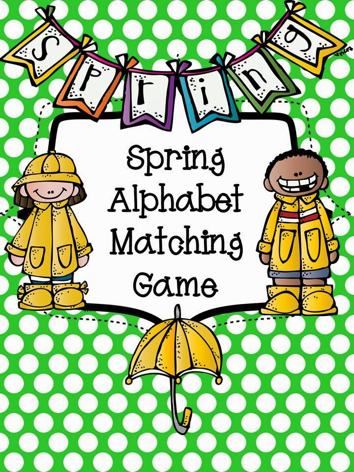 http://www.teacherspayteachers.com/Product/Spring-ABC-Matching-Game-FREE-1214836