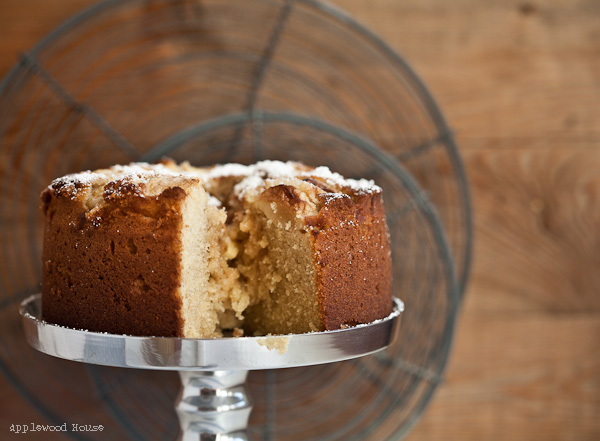 White chocolate apple cake delicious recipe