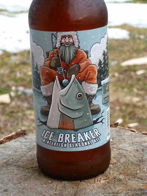 Ice Breaker Winterfish Seasonal Ale by FishTale