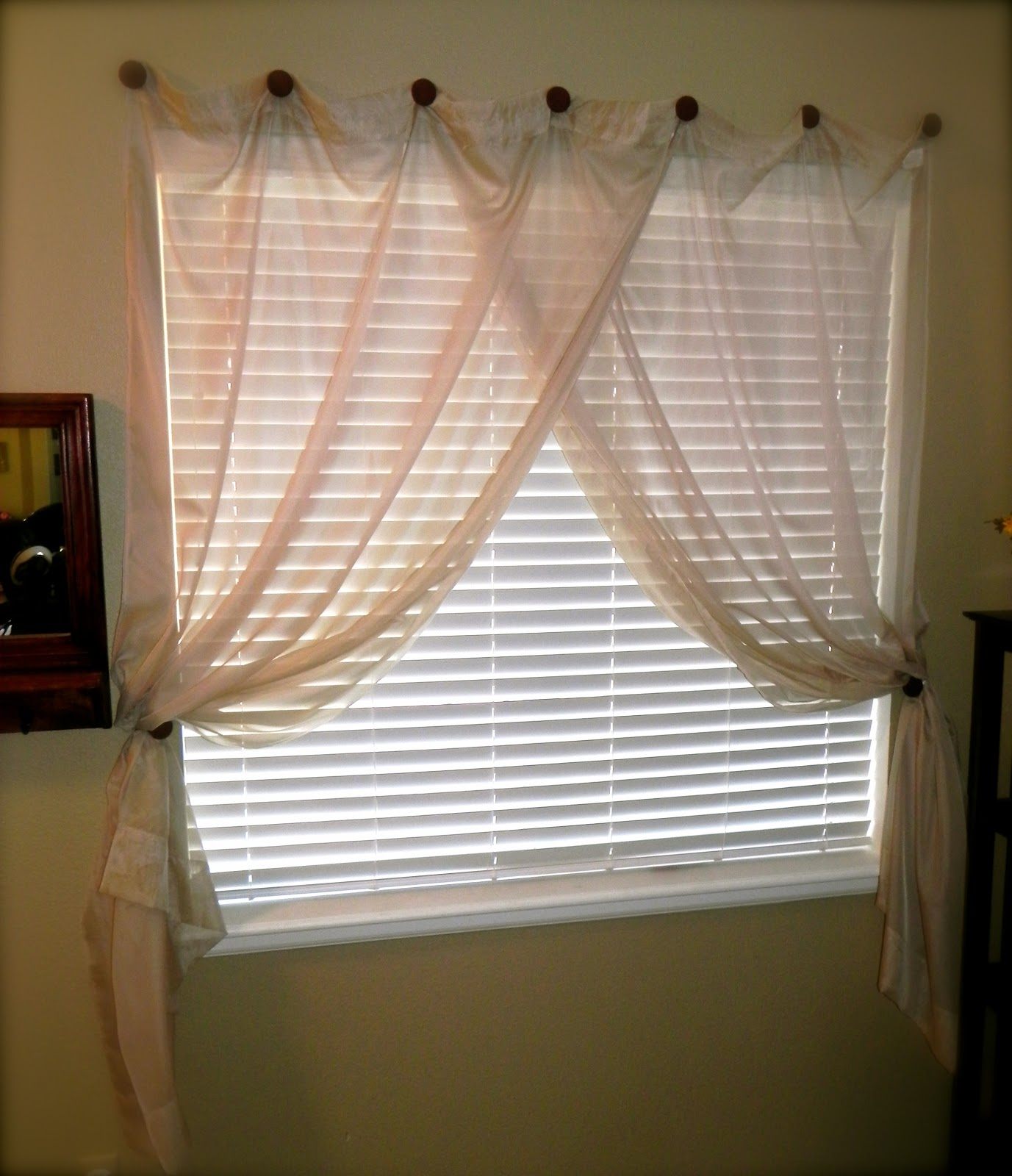 Ideas For Hanging Curtains Without Rods French Rods for Curtains