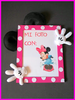 Marco Fotos Minnie Mouse Fieltro ChikiPol