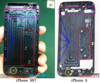 Foto Bocoran Pertama iPhone 5S