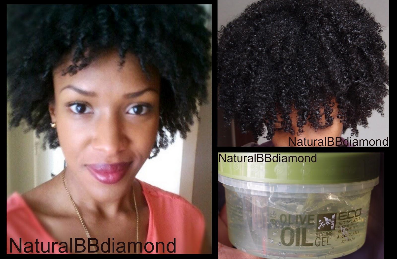 Gel pour cheveux effet naturel