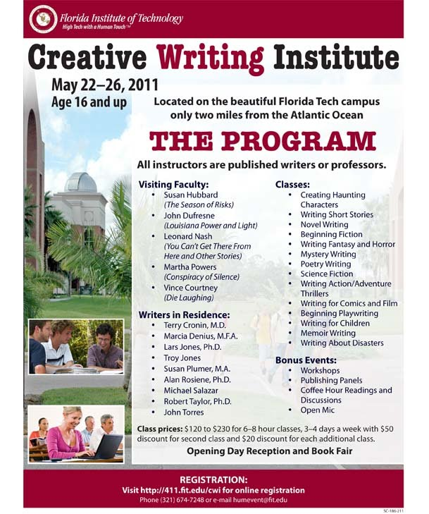 writing institute Pratt institute is a global leader in higher education situated in new york city the institute prepares its students for successful careers through its schools of art, design, architecture, information, and liberal arts and sciences.