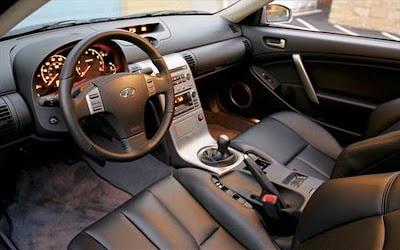 Infiniti G35 Sport Coupe Interior