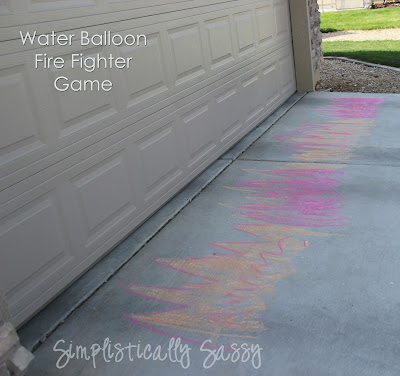 Water Balloon Fire Fighter Game