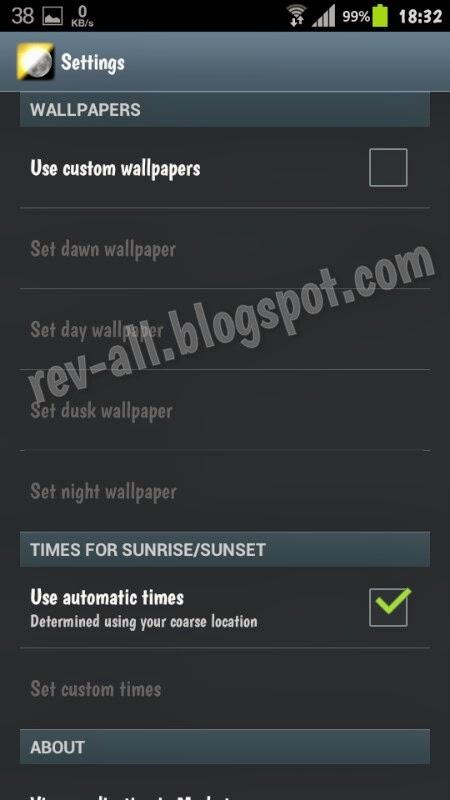 Pangaturan DayNight live wallpaper android (rev-all.blogspot.com)