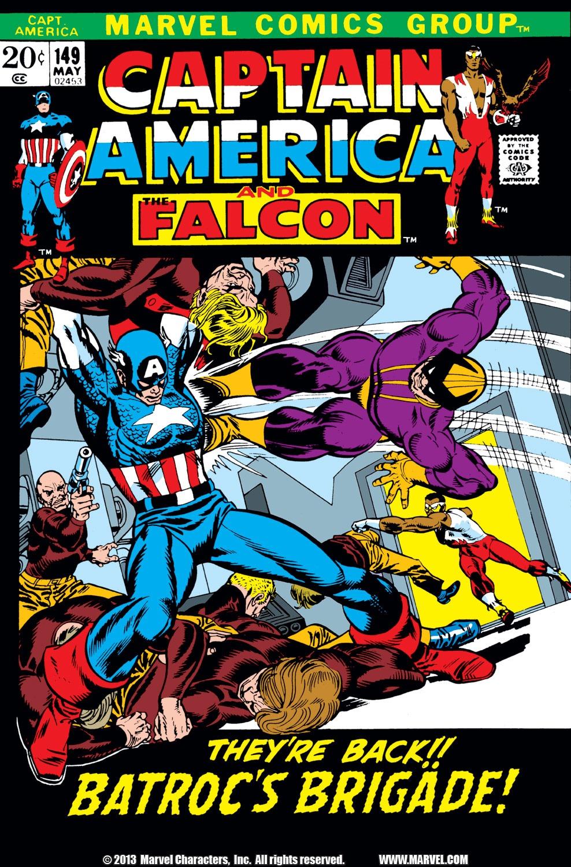 Captain America (1968) Issue #149 #63 - English 1