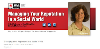 Christine B. Whittemore, Managing Your Reputation in a Social World