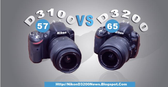 Nikon-D3100-vs-D3200