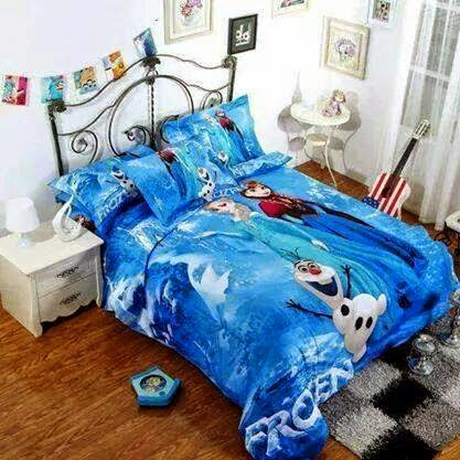 Bongbongidea Frozen Bedding Set Princess Elsa Anna Olaf