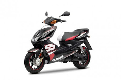 Modifikasi Yamaha Aerox SP55