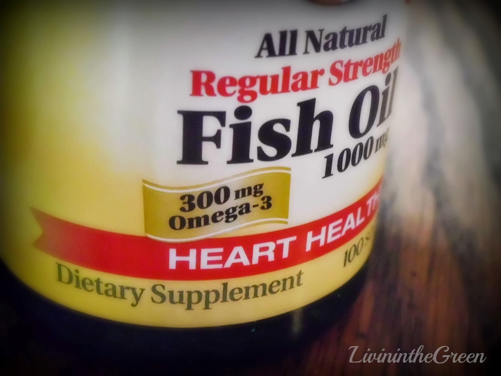Livin 39 in the green natural headache remedy for Do fish oil pills work