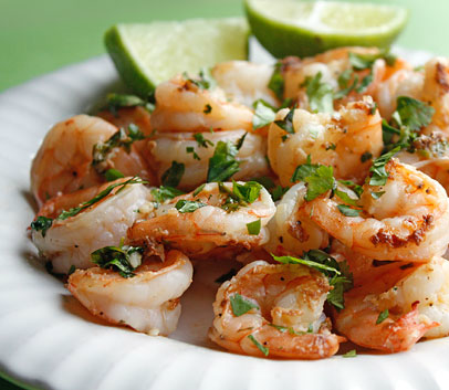how to cook pre cooked shrimp in a skillet