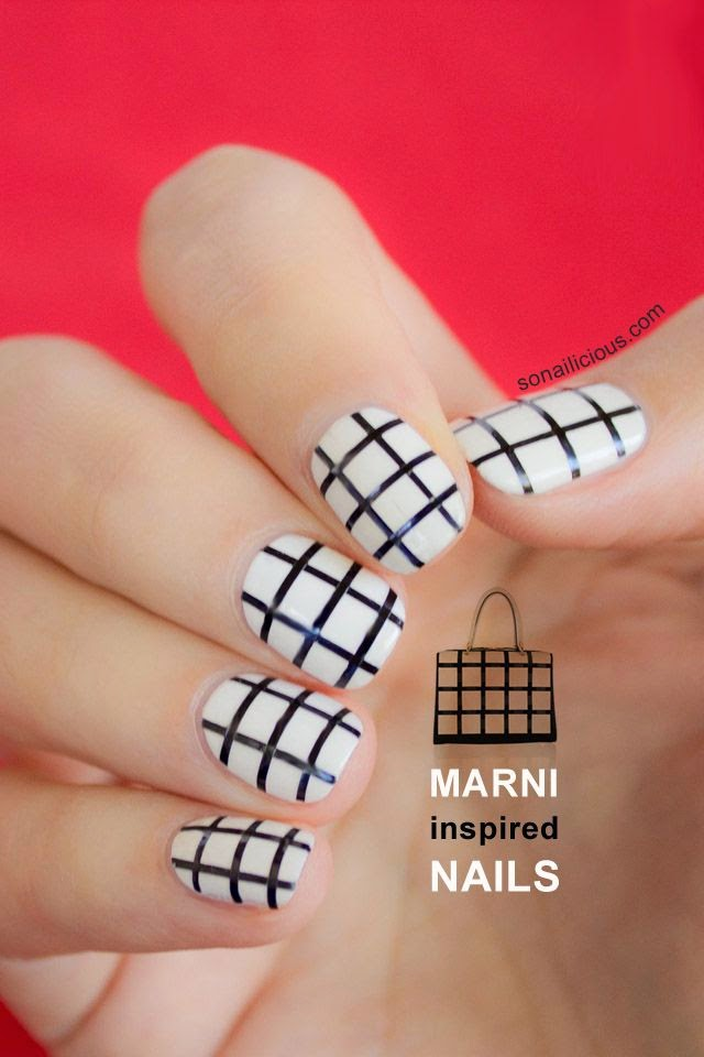 Black and White Nail Art Designs
