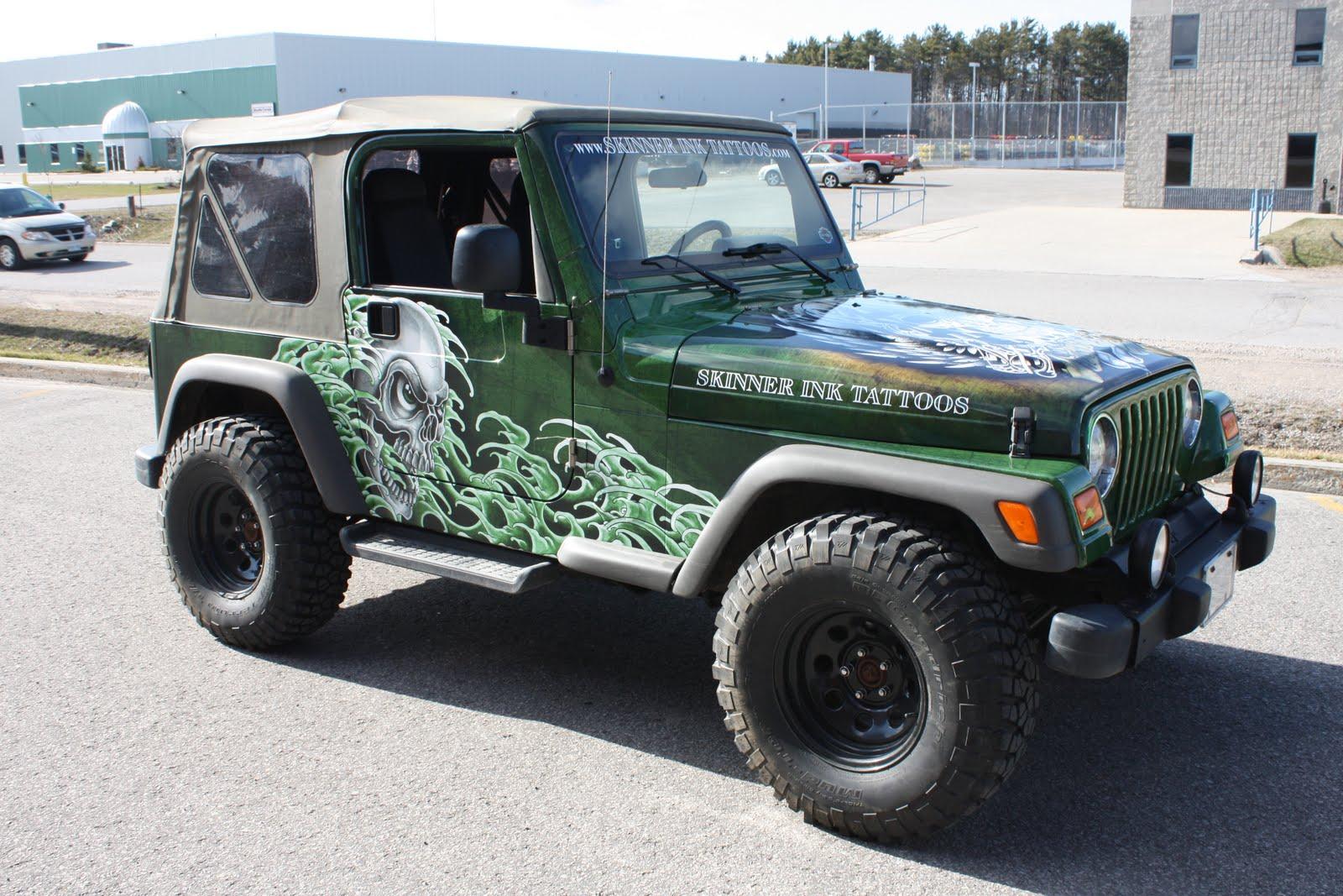 Jeep Wrap Skinnerink Eminent Custom Graphics Inc