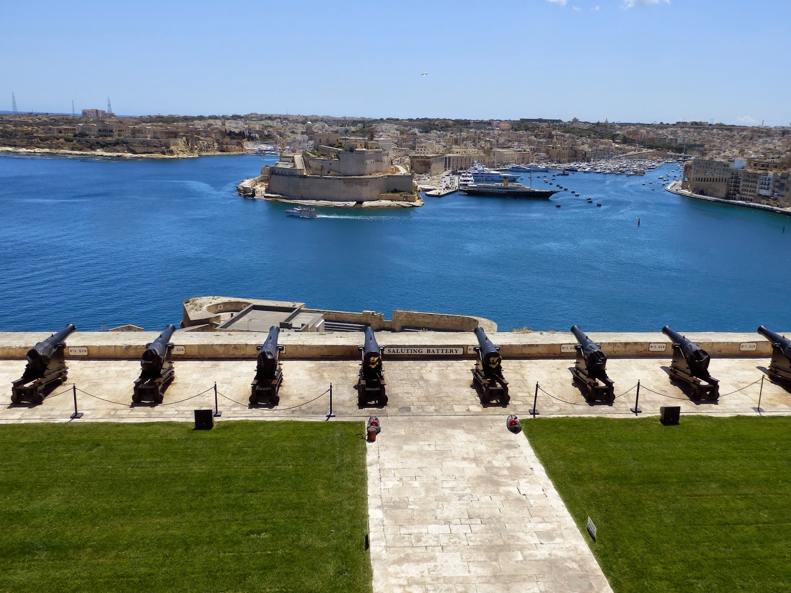 The Saluting Battery, Valletta, Malta