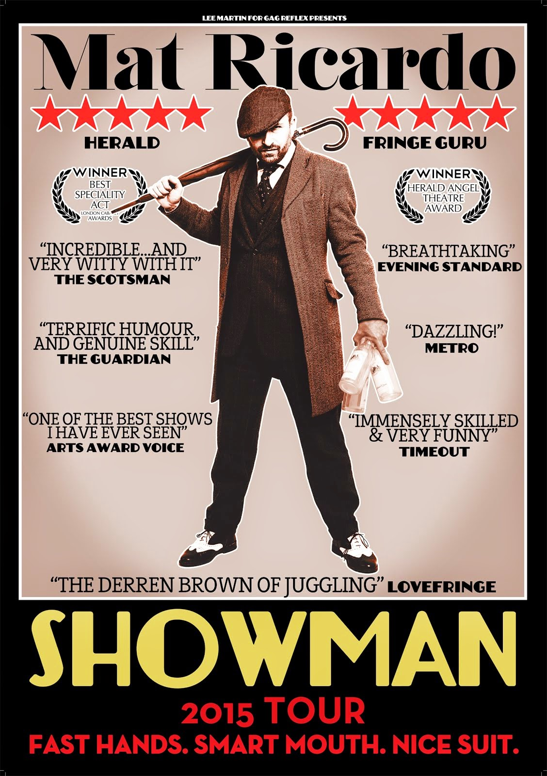 """SHOWMAN"" UK TOUR 2015"