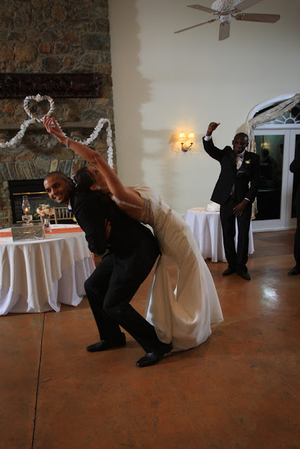 Briar Patch Bride and Groom Dancing Reception