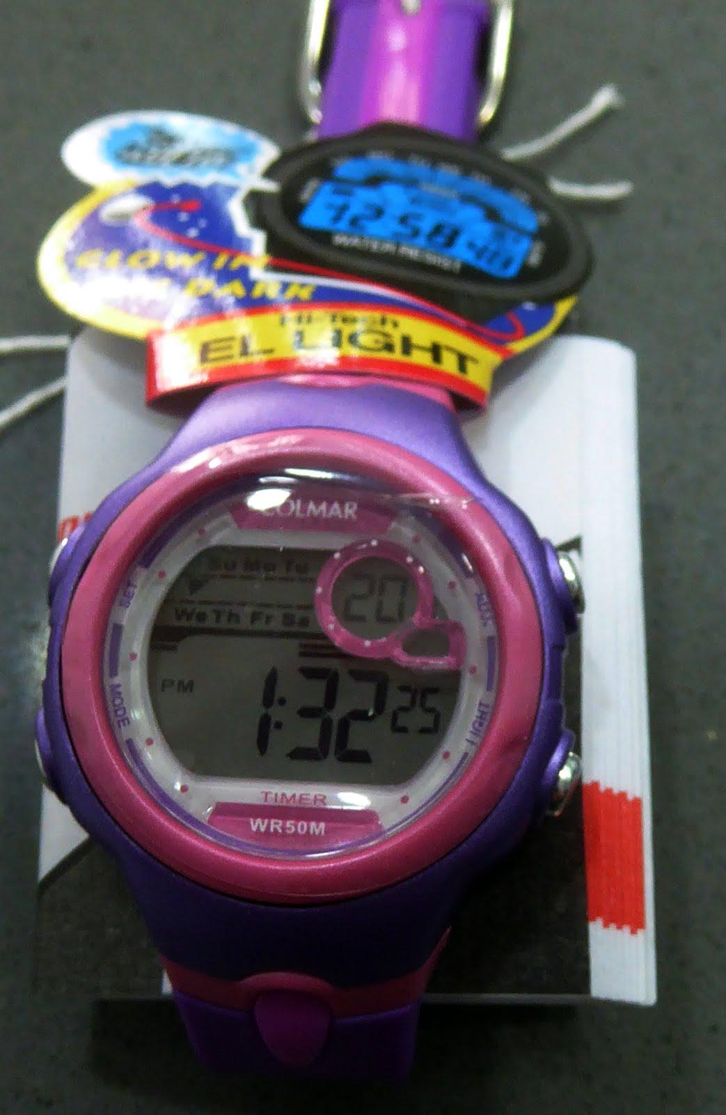 Reloj digital Colmar para chica