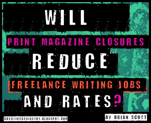 Print Media: Freelance Writing Jobs and Rate