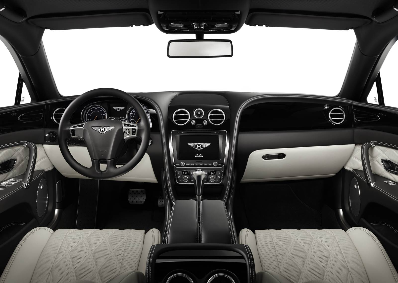 Bentley Flying Spur 2016 - interior