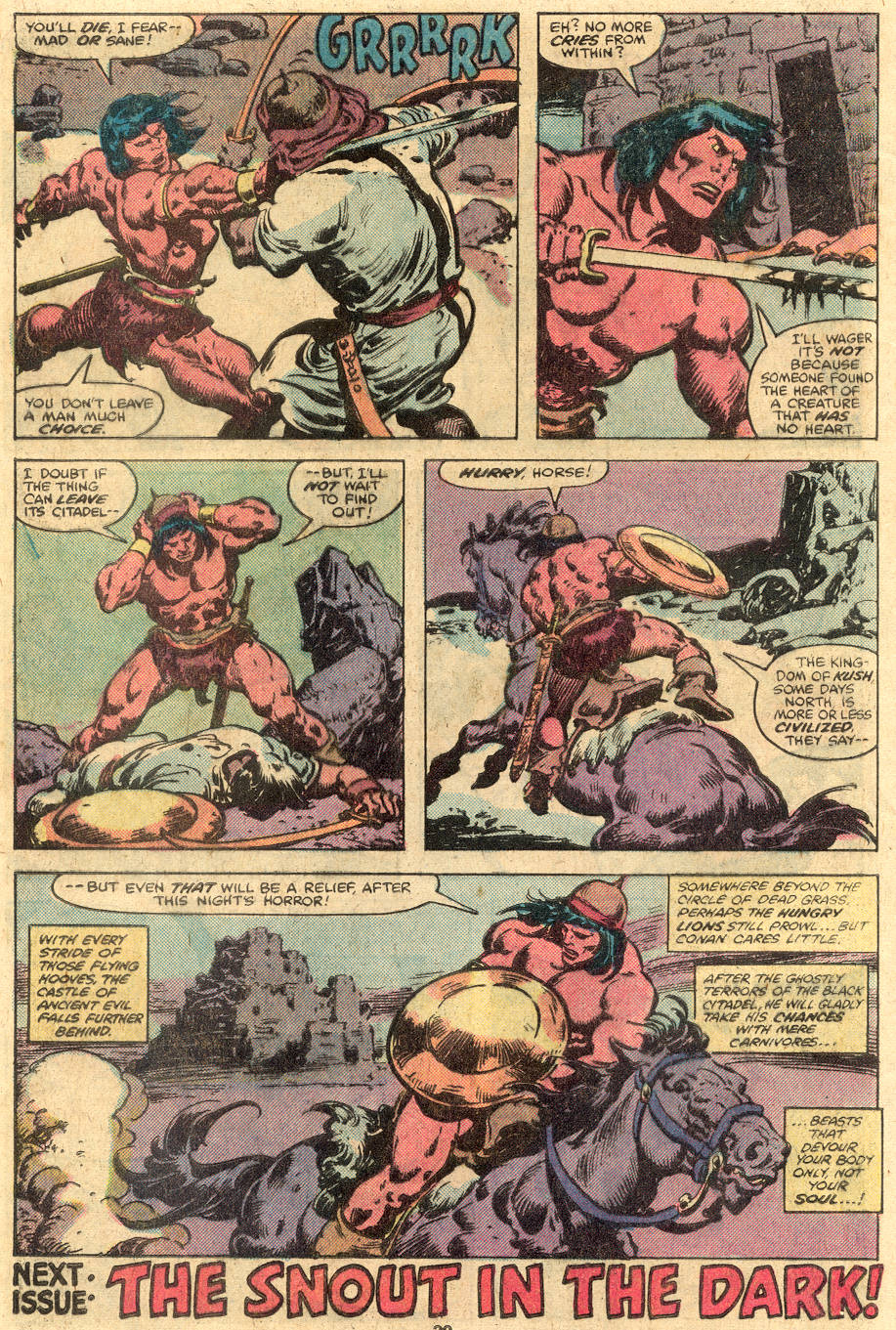 Conan the Barbarian (1970) Issue #105 #117 - English 18