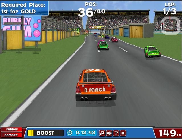 flash racing games