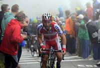 Purito durante el Giro de Lombardía