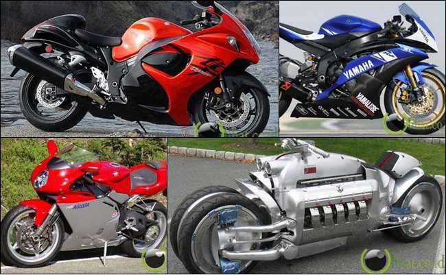 10 Sepeda Motor Tercepat yang pernah di Ciptakan Manusia