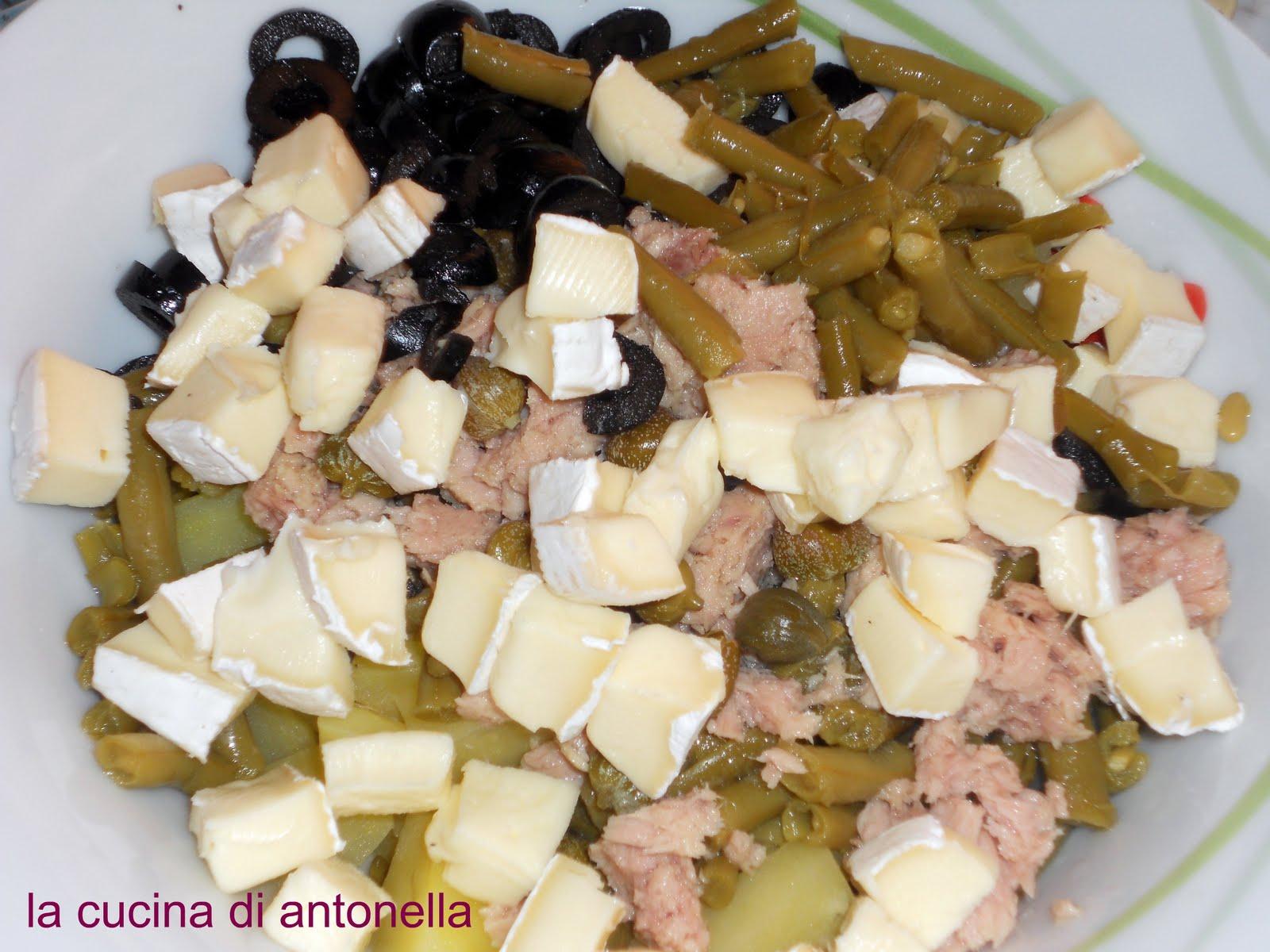 La cucina di antonella insalata di patate con tonno e brie - La cucina di antonella ...