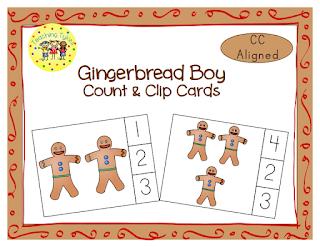 https://www.teacherspayteachers.com/Product/Gingerbread-Boy-Clip-Cards-1594358