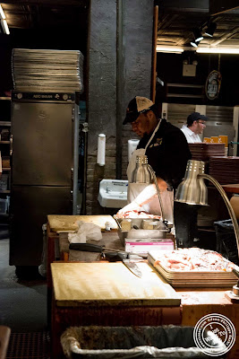 image of meat station at Hill Country in NYC, New York