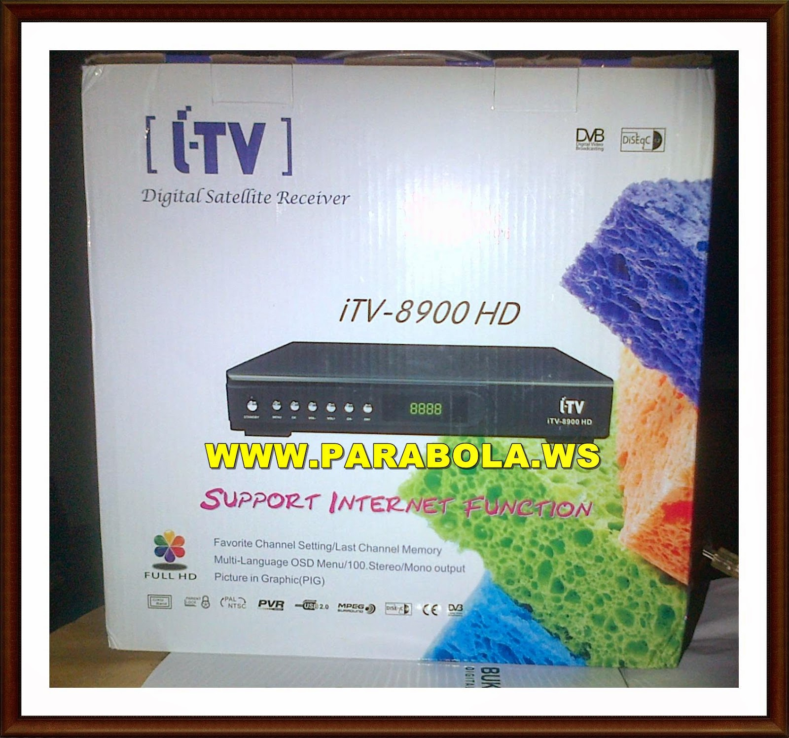receiver / decoder itv 8900 hd