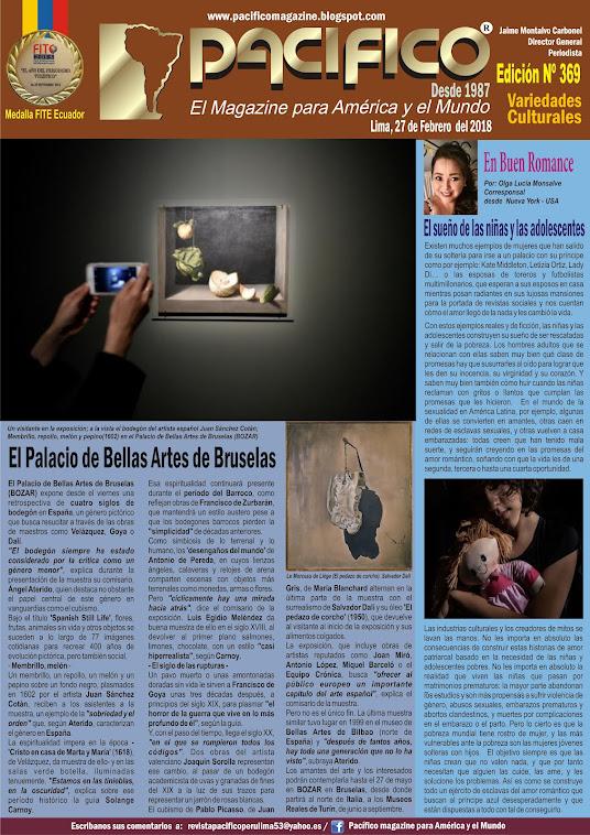 Revista Pacífico Nº 369 Variedades Culturales
