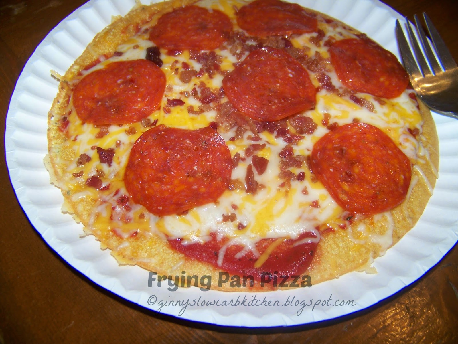 how to cook pizza in a frying pan