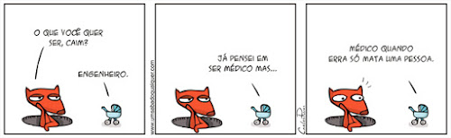 Tirinhas da Luna #63: 'Profissão' | Ordem da Fênix Brasileira