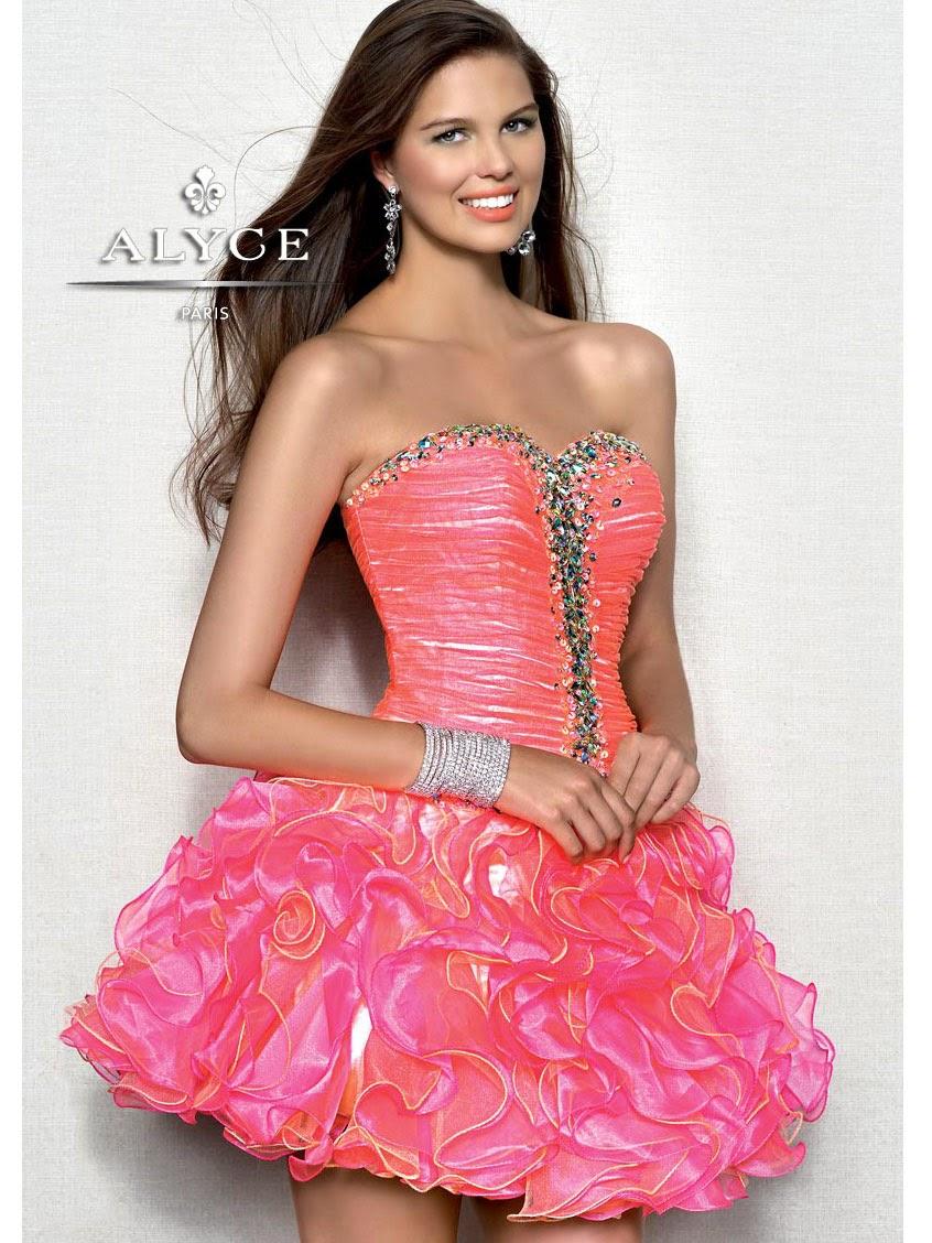 Asombroso Le Vestidos De Cóctel Castillo Motivo - Ideas de Estilos ...