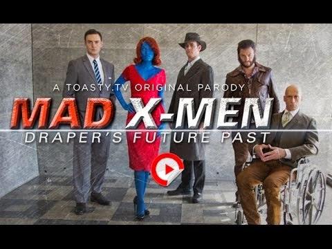Mad X-Men: Don Draper's Future Past (#XMen vs. #Mad Men) #ToastyTV @Quiznos #XMenDaysOfFuturePast