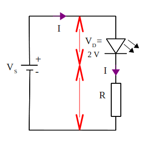 LED current limiting resistor