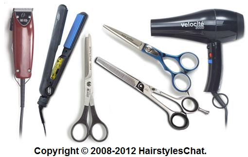 Scribbles: Hair Cut Art Materials and Equipment