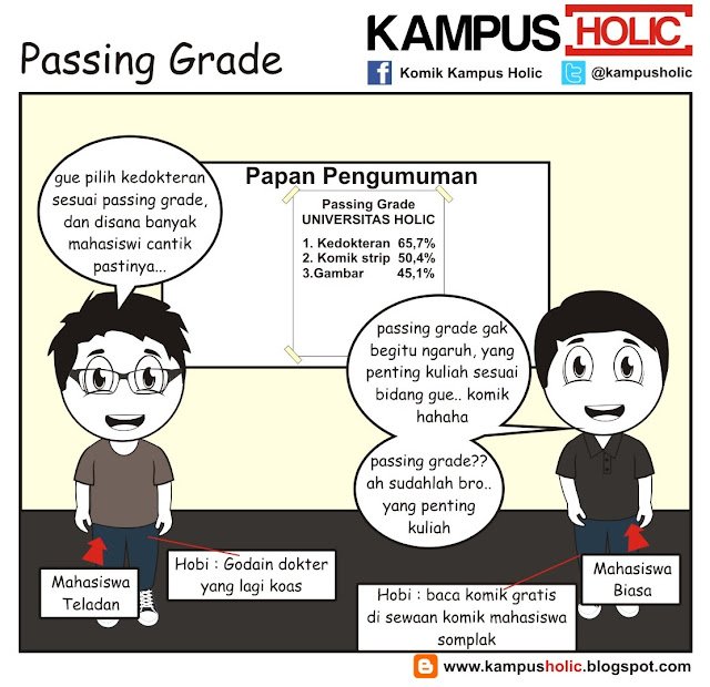 #215 Passing Grade, ala mahasiswa universitas holic